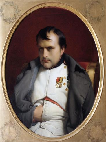 Napoleon in Fontainebleau Reproduction procédé giclée
