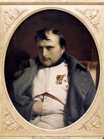 Napoleon in Fountainebleau Reproduction procédé giclée