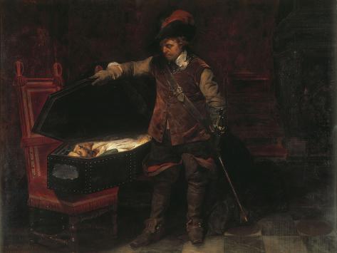 Oliver Cromwell Reproduction procédé giclée