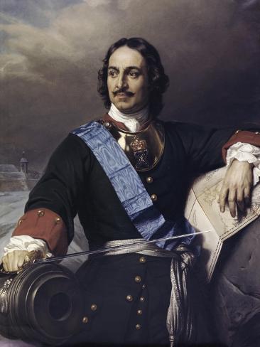 Peter the Great Reproduction procédé giclée
