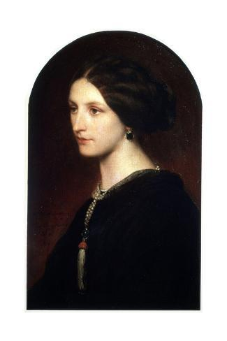 Portrait of Countess Sophie Shuvaloff, 1853 Reproduction procédé giclée
