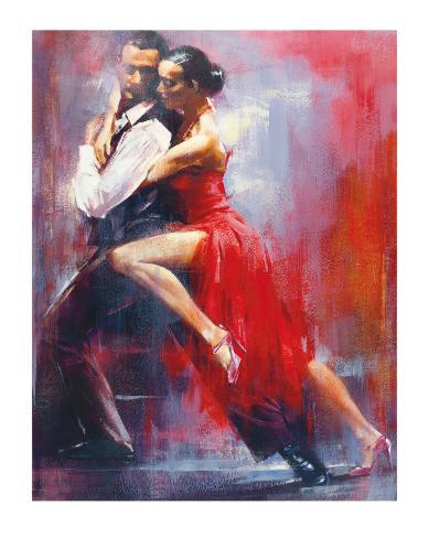 tango nuevo i affiche par pedro alverez sur. Black Bedroom Furniture Sets. Home Design Ideas
