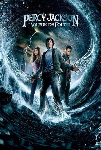 Percy Jackson & the Olympians: The Lightning Thief - French Style Poster