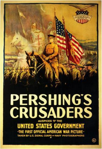 Pershing's Crusaders Affiche originale