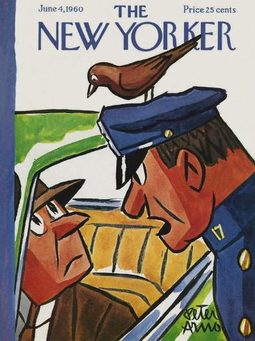The New Yorker Cover - June 4, 1960 Reproduction giclée Premium