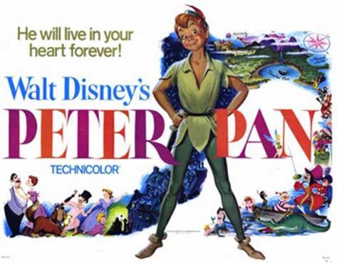 Peter Pan Affiche originale