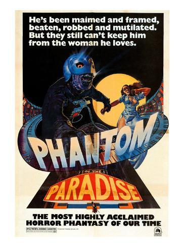 Phantom of the Paradise, 1974 Photographie