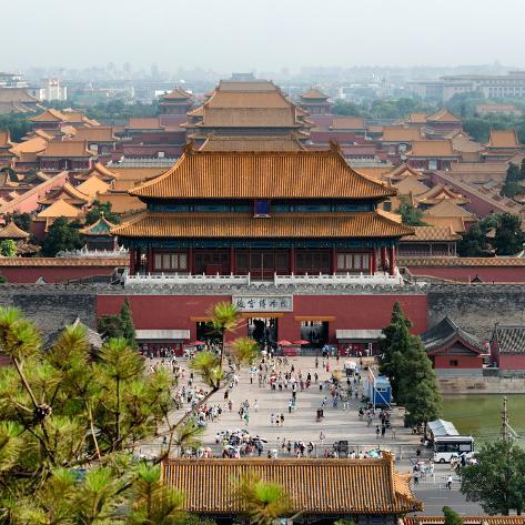 China 10mkm2 collection forbidden city beijing - Maison familiale design a beijing en china par arch studio ...