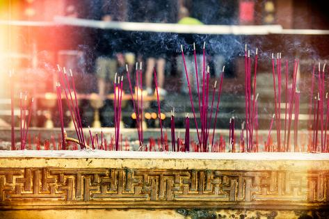 China 10MKm2 Collection - Instants Of Series - Incense Scents Reproduction photographique