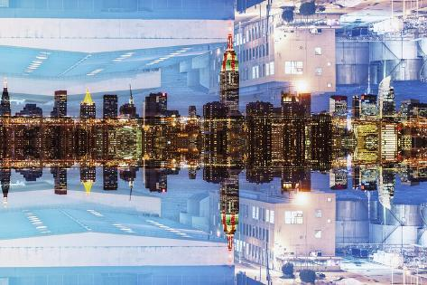 New York City Reflections Series Reproduction photographique