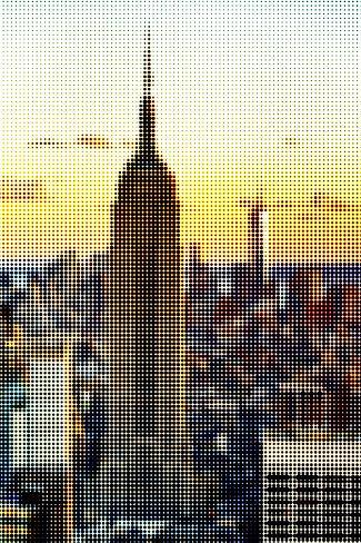 Pixels Print Series Reproduction photographique