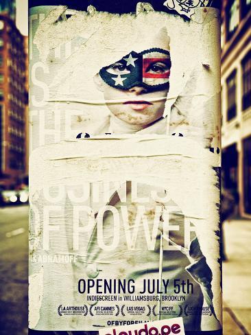Street Art, Trendy Advertising, Manhattan, Brooklyn, New York, Vintage Autre