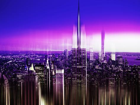 Urban Stretch Series, Fine Art, Empire State Building, Manhattan, New York, United States Autre