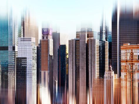 Urban Stretch Series, Fine Art, Manhattan, Times Square, New York, United States Autre