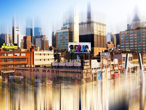 Urban Stretch Series, Fine Art, Pier, Manhattan, New York, United States Autre