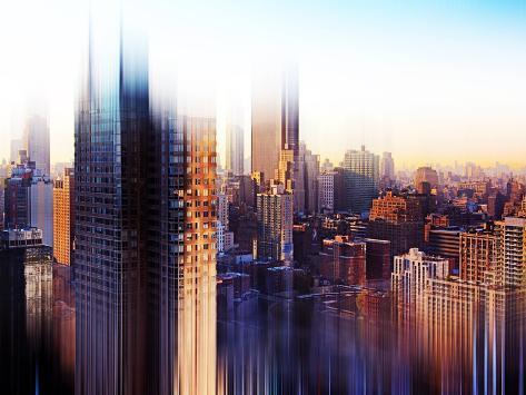 Urban Stretch Series, Fine Art, Theater District, Manhattan, New York, United States Autre