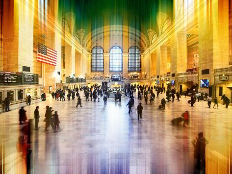 Urban Stretch Series - Grand Central Terminal - Manhattan - New York Reproduction photographique