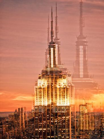 Urban Vibrations Series, Fine Art, Landscape, Manhattan, New York City, United States Autre