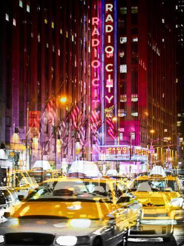 Urban Vibrations Series, Fine Art, Radio City Music Hall, New York City, United States Autre