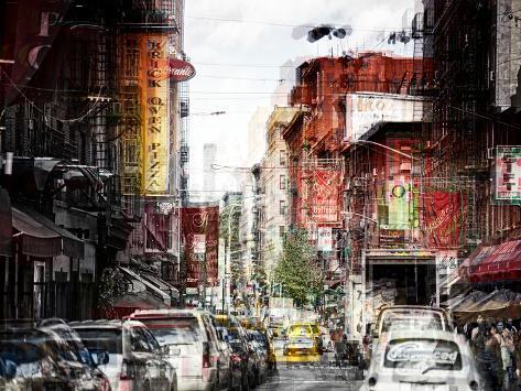 Urban Vibrations Series, Fine Art, Urban Style, Manhattan, New York City, United States Autre