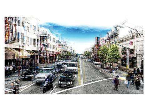 Urban Vibrations Series, Fine Art, Urban Style, San Francisco, United States Autre