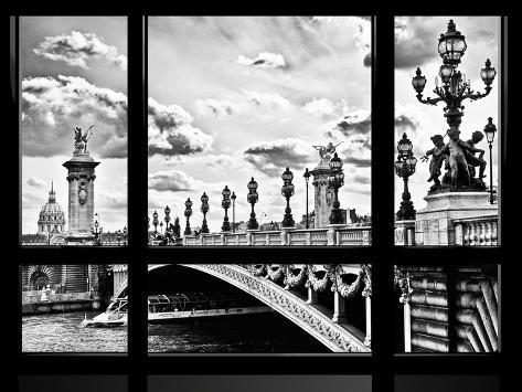 Window View, Special Series, Alexander Iii Bridge and Seine River Views, Paris Autre