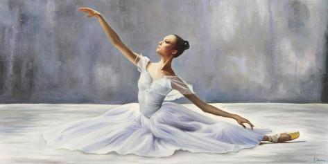 Ballerina Toile tendue sur châssis