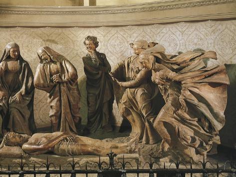 Pieta, or Lamentation over Dead Christ by Nicholas Ark Reproduction procédé giclée