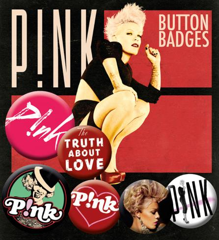 Pink Badge Pack Badge