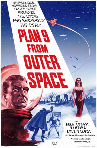 Plan 9 from Outer Space Affiche originale
