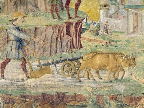 Plowing the Fields Reproduction procédé giclée