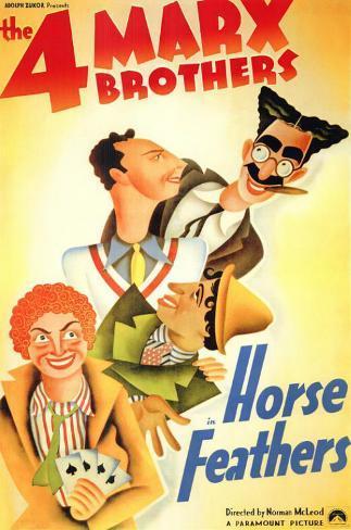 Plumes de cheval Affiche originale