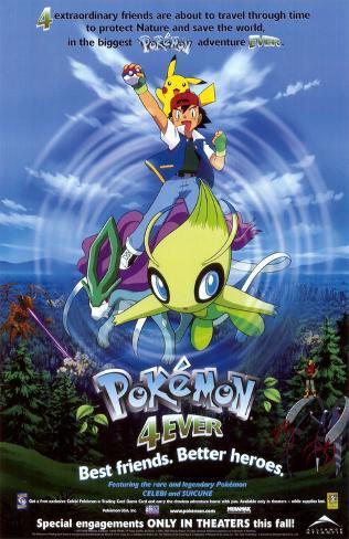 Pokémon 4ever Affiche originale
