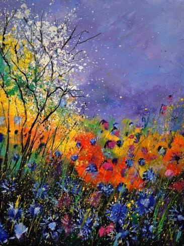 Wild Flowers 454120 Reproduction d'art