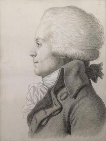 Portrait de Maximilien de Robespierre (1758,1794)