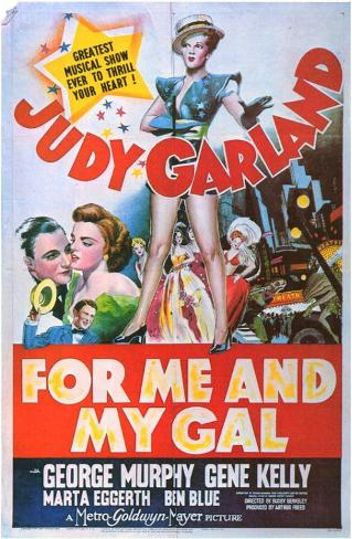 Pour moi et ma mie|For Me and My Gal Affiche originale