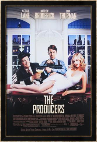Producteurs, Les|The Producers Affiche encadrée