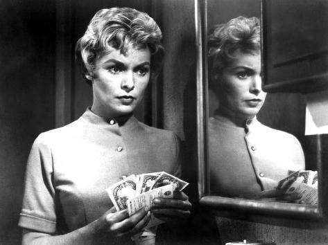 Psycho, Janet Leigh, 1960 Photographie