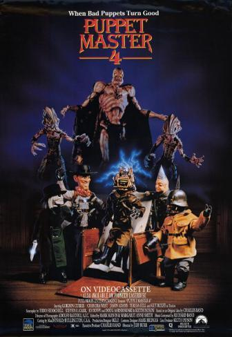 Puppet Master 4 Affiche originale