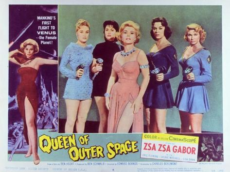 Queen of Outer Space, 1958 Reproduction d'art