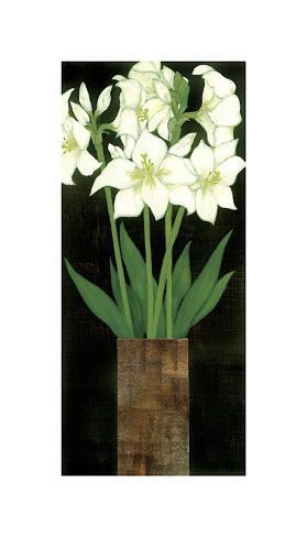 Perfect White Lilies Reproduction procédé giclée