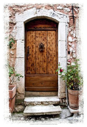 Doors of europe v poster par rachel perry sur for Rachel s fairy doors