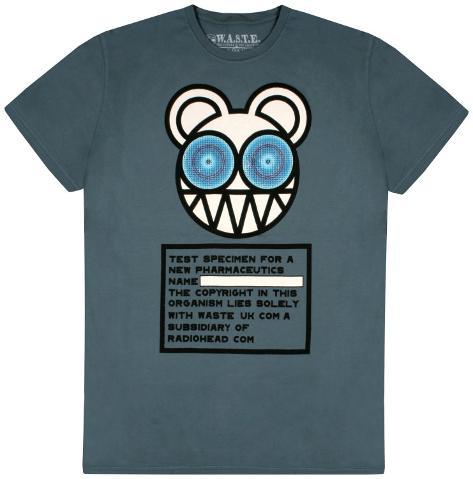 Radiohead - Test Specimen T-shirt