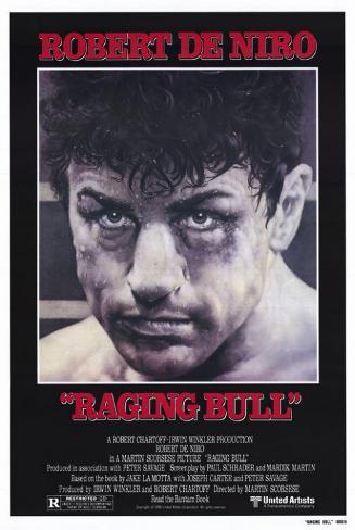 Raging Bull Affiche originale
