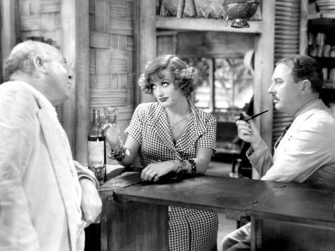 Rain, Guy Kibbee, Joan Crawford, Matt Moore, 1932 Photographie