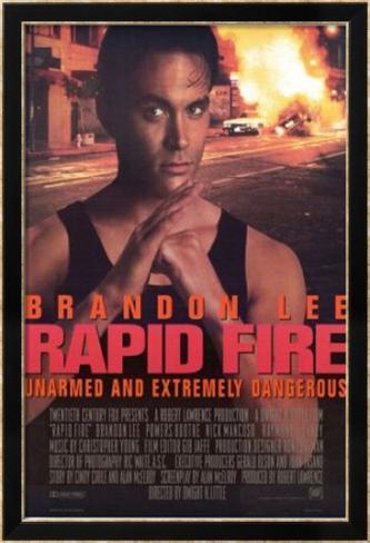 Rapid Fire Affiche encadrée