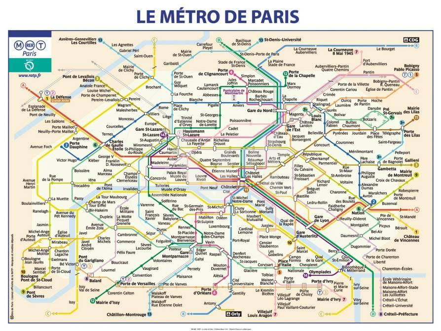 Métro De Paris Affiche par Ratp sur AllPosters.fr