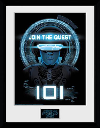 Ready Player One - Join The Quest Reproduction encadrée pour collectionneurs