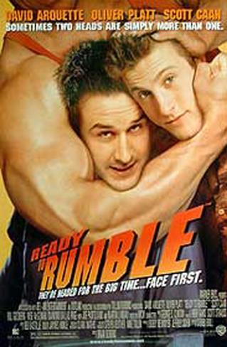 Ready to Rumble Affiche double face
