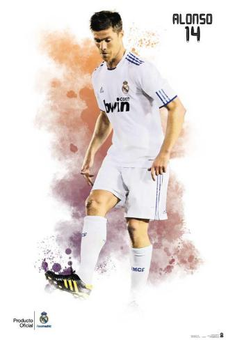 Real Madrid- Alonso Poster